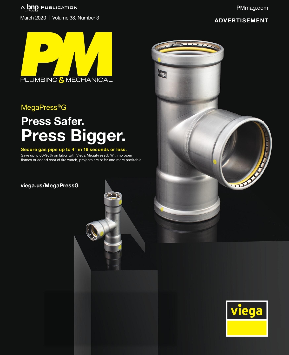 Plumbing And Mechanical Magazine Cover Photo